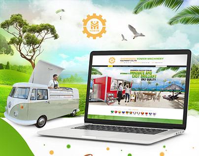 Alibaba Website Design