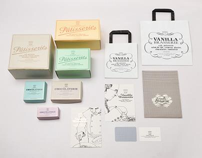 Vanilla Brasserie Identity