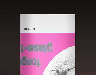 Réalité Book/Poster
