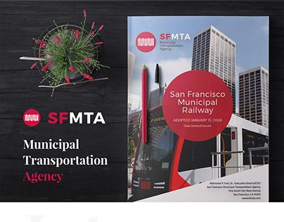 SFMTA- Annual report design