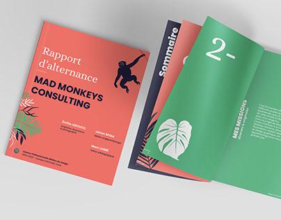 Rapport d'alternance - Agence de communication digitale