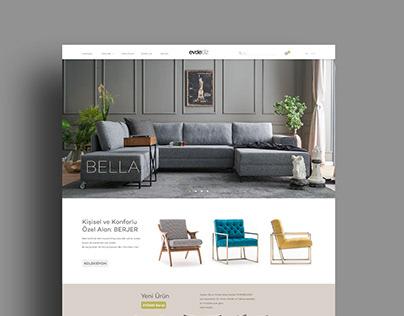 evdebiz.com UI-UX Design / Kullanıcı Arayüz Tasarımı