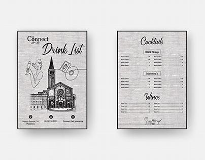 Drink List - ConnectLab