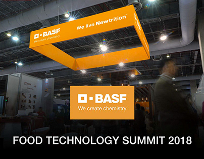 BASF Food Tech Summit Booth