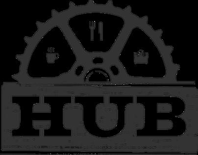 HUB Happy Hour Sign