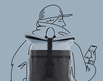 Brand identity of bags and backpacks