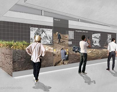 Wettbewerb »Archäologisches Landesmuseum«