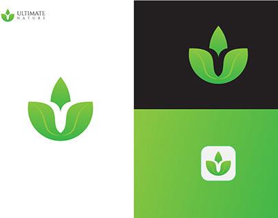Ultimate Nature Logo, Modern logo