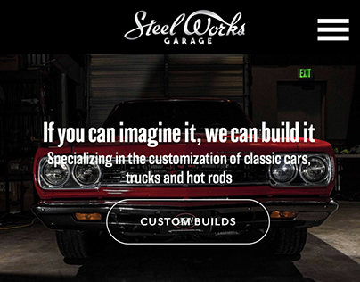 Steel Works Garage Website