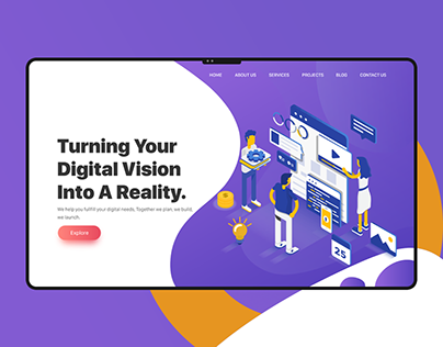 Virtual Capital Website Design