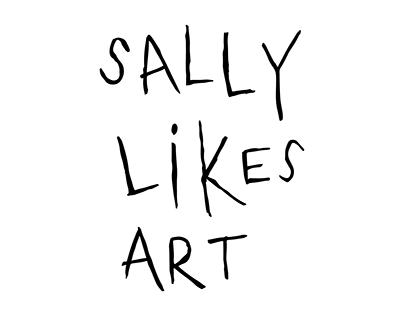 Sally likes Art - Website