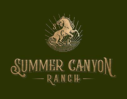 Summer Canyon Ranch logo and branding