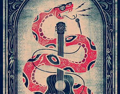 Gasparilla Music Festival 2016 - Gigposter