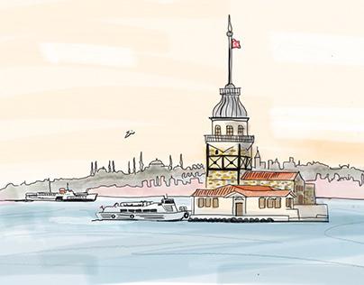 Maiden's Tower - illustration