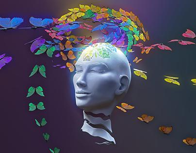 Meditation (Animated Gif Art)