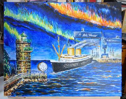 Kunst aus dem Hafen von Bremen-Walle