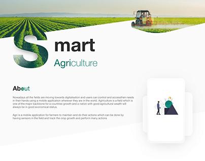 Smart Agri Mobile app UX UI