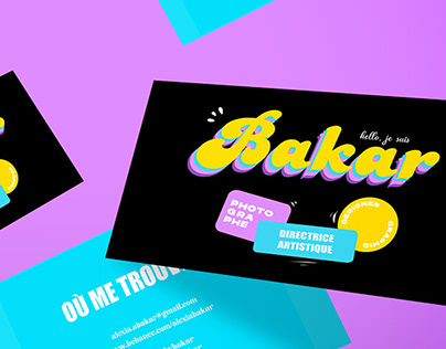 Graphisme ⎮ Business Cards