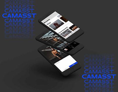 Camasst-Photography App Interface Design