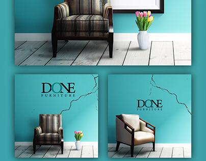 furniture social media designs