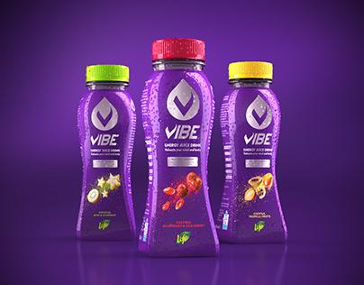 VIBE energy juice drink