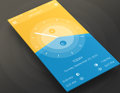Daylight Mobile App UX & UI
