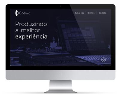 Website - Cádmio