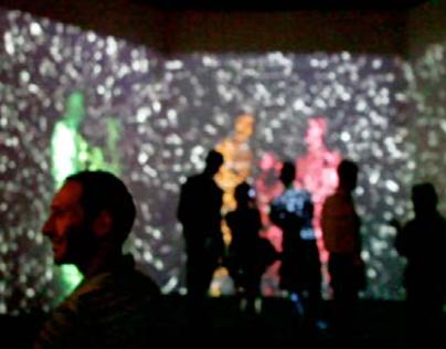 The #GiftOfMass // Interactive AudioVisual Installation