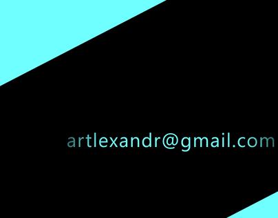 Artlexandr Reel 2017