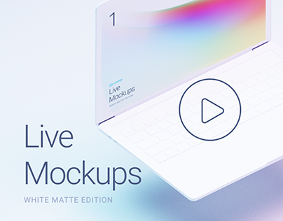 Live Mockups | White Matte Edition