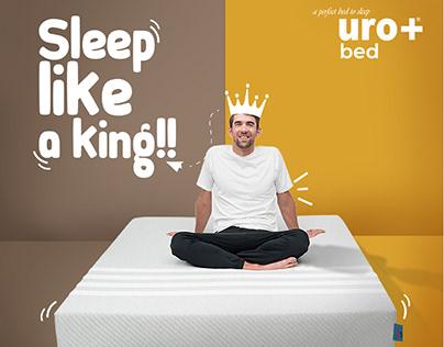 bed social media poster
