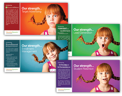 Education Dynamics Conceptual Promotional Postcards