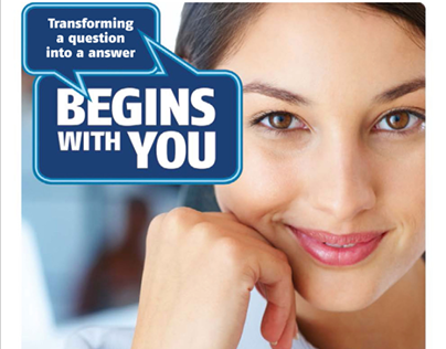 """Begins with you"" Teleperformance"
