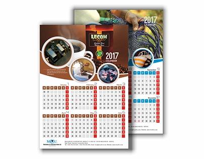 MCU calendar design