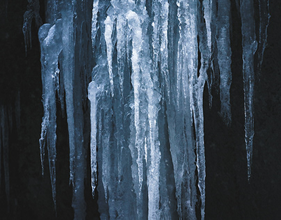 ice structures.