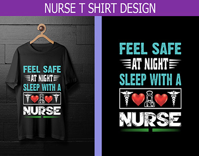 Nurse T Shirt Design