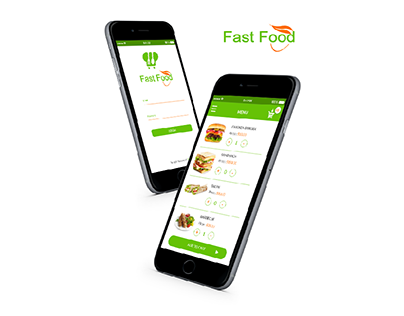 Fast Food App UI/UX Design & Animation