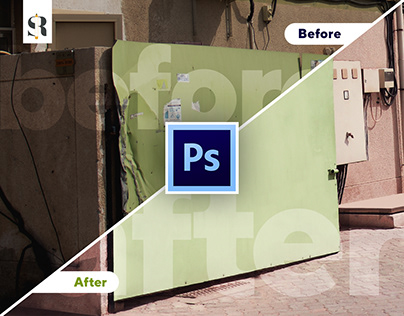 Before and After (Work done for Ummah Design)