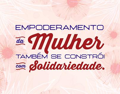 Campanha Hemocentro - Dia da Mulher