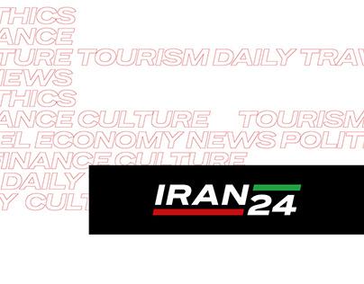 Iran24 - news service branding