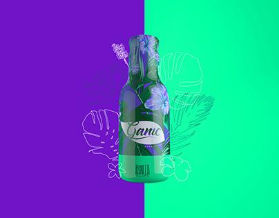 Ganic Organic Soda - Branding