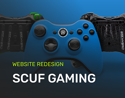 SCUF Gaming Ecommerce Homepage