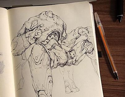 Sketchbook - 2017