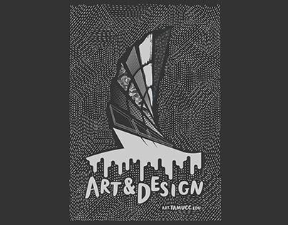 TAMUCC Graphic Design & Department Branding