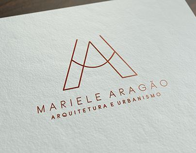 Logo Mariele Aragão Arquitetura e Urbanismo