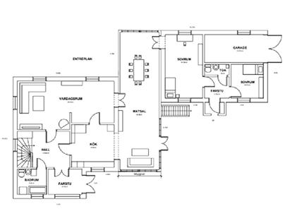 Fasad- och planritningar | AutoCAD