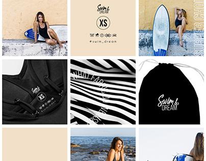 Design for swimsuit brand