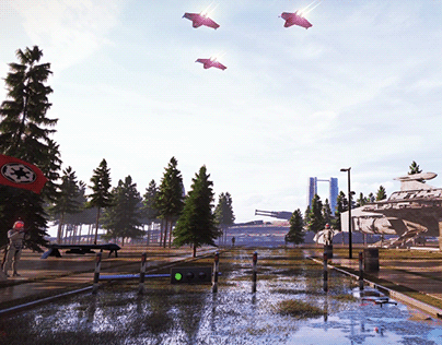 3D Environment Concept