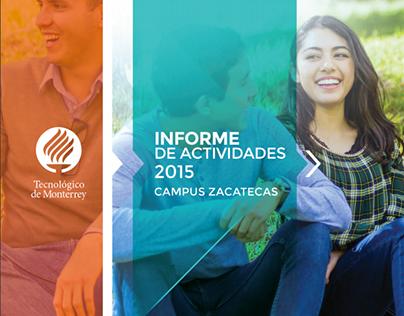 Informe Anual, de Campus Zacatecas