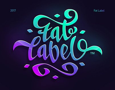 Fat Label Logo 2017